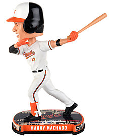 Forever Collectibles Manny Machado Baltimore Orioles Headline Bobblehead