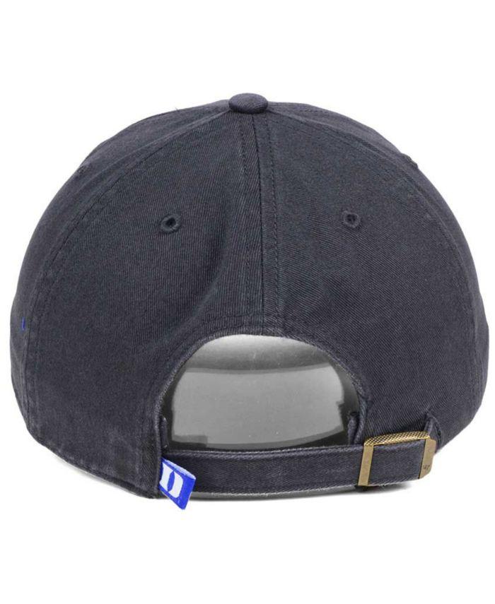 '47 Brand Duke Blue Devils CLEAN UP Cap & Reviews - Sports Fan Shop By Lids - Men - Macy's