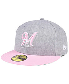 New Era Milwaukee Brewers Perfect Pastel 59FIFTY Cap