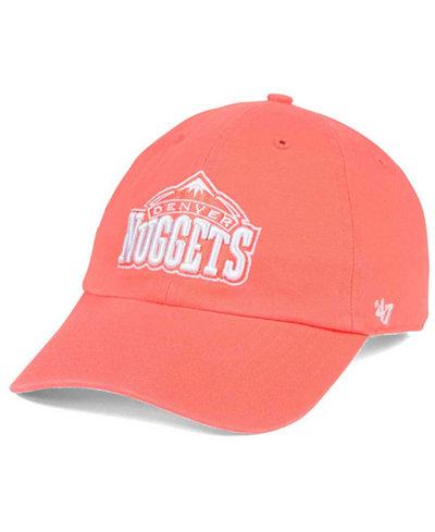 '47 Brand Denver Nuggets Pastel Rush CLEAN UP Cap