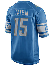 Nike Men's Golden Tate Detroit Lions Game Jersey