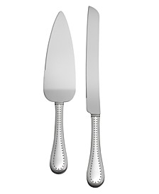 Grosgrain Cake Knife and Server