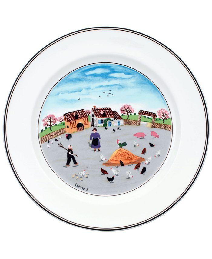 Villeroy & Boch - Dinnerware, Design Naif Dinner Plate Country Yard