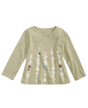 First Impressions Boho FloralPrint Cotton TShirt Baby Girls (024 months) Created for Macys