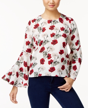 f9bbd84739cc16 Vince Camuto Bell-Sleeve Top