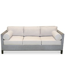 living room sectionals: leather & fabric - macy's - Big Sofa Laguna Magic Cream