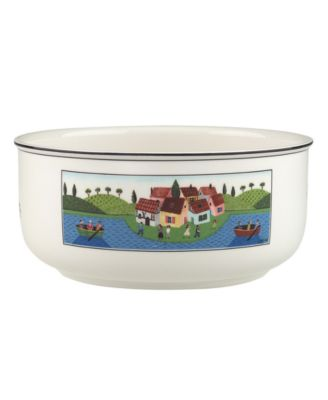 Dinnerware, Design Naif Round Vegetable Bowl Boaters