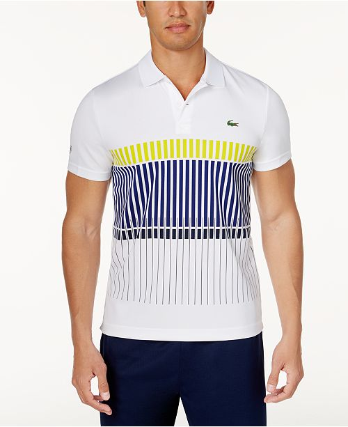 1b138c833 ... Lacoste Collection for Novak Djokovic Men s UltraDry Performance Polo