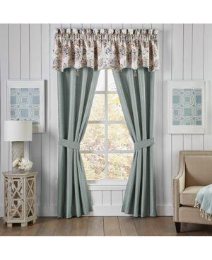 "Croscill Beckett 54"" x 19"" Canopy Window Valance Bedding 4734651"