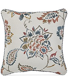 "CLOSEOUT! Beckett 18"" Square Decorative Pillow"