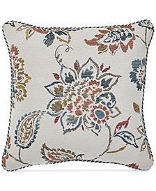 """Croscill Beckett 18"""" Square Decorative Pillow"""