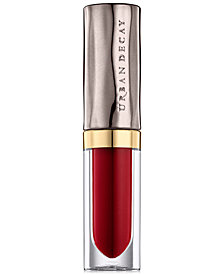 Receive a Free Deluxe Vice Liquid Lip in Crimson with any $50 Urban Decay purchase