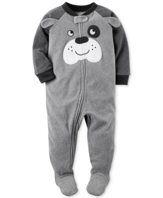1pc dog footed pajamas baby boys 024 months