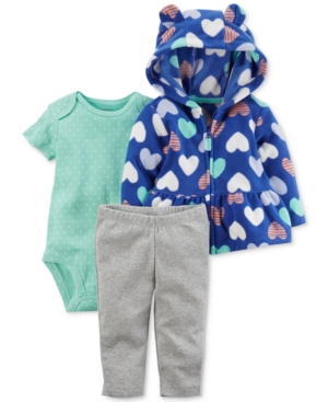 Carter's 3-Pc. Peplum...
