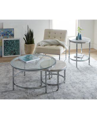 Volko Round End Table