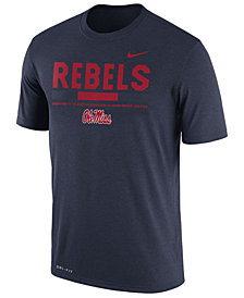 Nike Men's Ole Miss Rebels Legend Staff Sideline T-Shirt