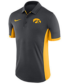 Nike Men's Iowa Hawkeyes Evergreen Polo