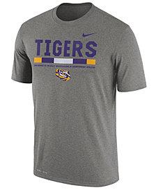 Nike Men's LSU Tigers Legend Staff Sideline T-Shirt
