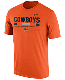 Nike Men's Oklahoma State Cowboys Legend Staff Sideline T-Shirt