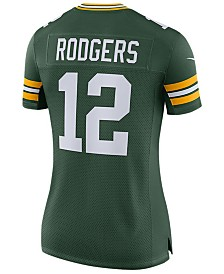 Nike Women's Aaron Rodgers Green Bay Packers Limited II Jersey