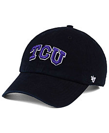 '47 Brand TCU Horned Frogs CLEAN UP Cap