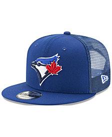 New Era Toronto Blue Jays On Field Mesh 9FIFTY Snapback Cap