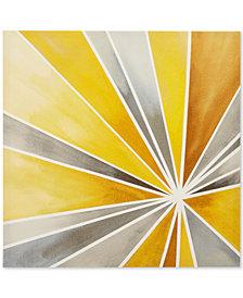 Intelligent Design Ray of Sunshine Gel-Coated Canvas Print