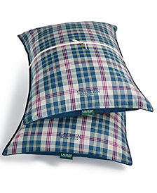 Lauren Ralph Lauren Randolph Reversible Yarn-Dyed Plaid 2 Pack Standard Pillows