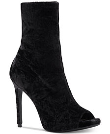 Jessica Simpson Rainer Peep-Toe Booties
