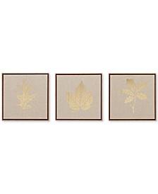 Madison Park Golden Harvest 3-Pc. Framed Canvas Print Set
