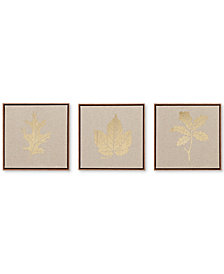 Madison Park Golden Harvest 3-Pc. Framed Canvas Print Set