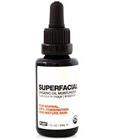 Superfacial Organic Oil Moisturizer For Normal, Dry, Combination & Mature Skin