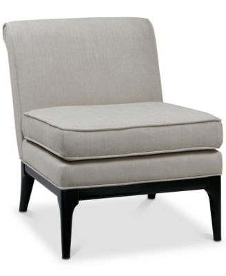 Excellent Armless Accent Chairs Decor