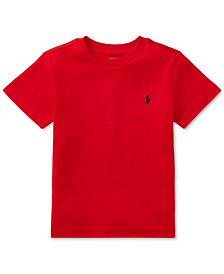 Ralph Lauren Toddler Boys Crew-Neck Tee