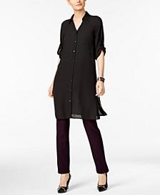 Tunic Shirt & Jacquard Pants, Created for Macy's