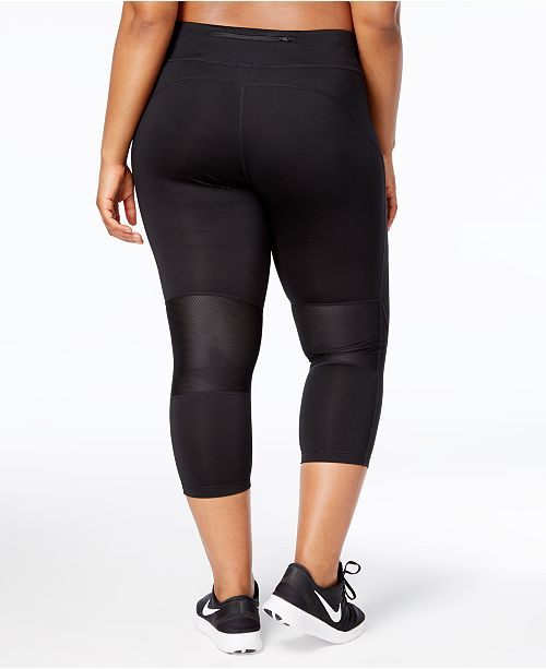 90c47d9cd0545 Nike Plus Size Power Compression Cropped Leggings & Reviews - Pants ...