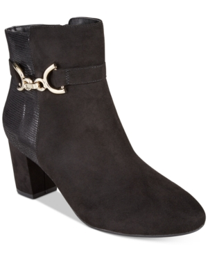 Karen Scott Justyce Ankle Booties, Created for Macy