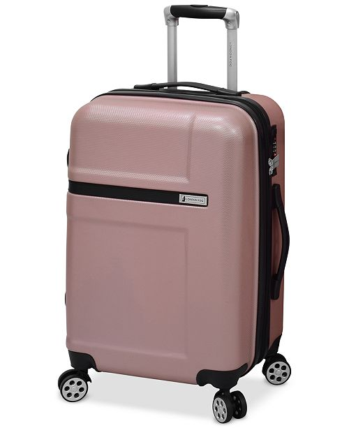 "London Fog CLOSEOUT! Southbury 21"" Hardside Expandable Spinner Carry-on Suitcase, Created for Macy's"