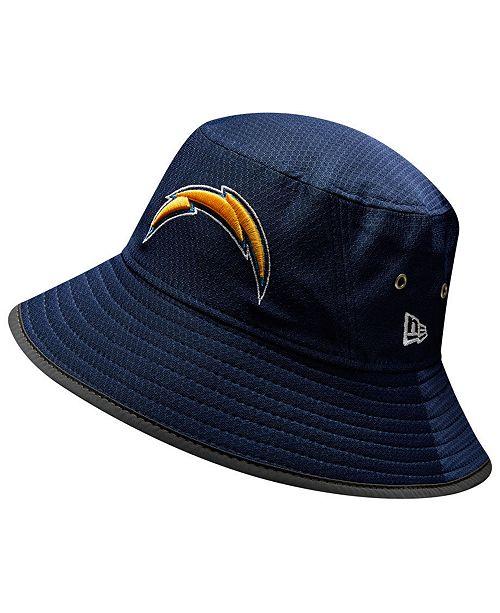 New Era Los Angeles Chargers Training Bucket Hat - Sports Fan Shop ... 1375c81be83c