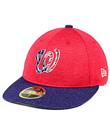 New Era Washington Nationals Low Profile Stars & Stripes 59FIFTY Cap