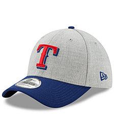 New Era Texas Rangers Heather Classic 39THIRTY Cap