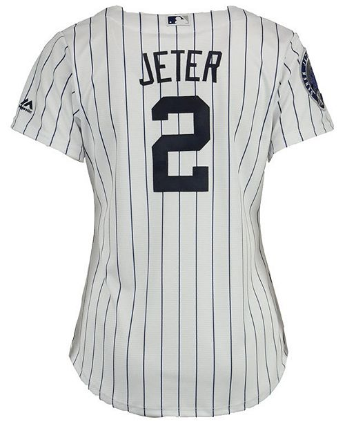 buy popular ced9a 86f49 Majestic Women's Derek Jeter New York Yankees Player Cool ...