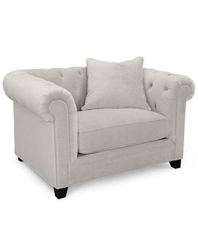 Martha Stewart Collection Saybridge Living Room Chair - Furniture ...