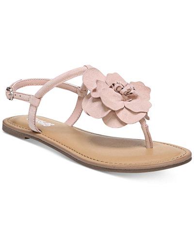 Carlos by Carlos Santana Adalyn Flower Flat Sandals