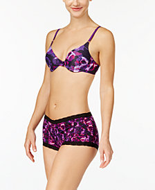 Maidenform One Fab Fit Demi Bra & Lace-Trim Boyshort