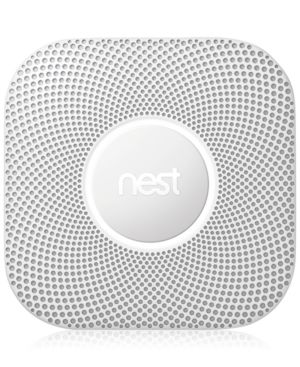 Image of Google Nest Protect (Wired) 2nd Generation, White