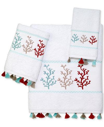 Avanti Coral Trio Cotton Bath Towel