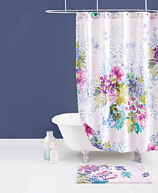bluebellgray Ines Cotton Shower Curtain