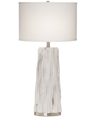 Pacific Coast Faux Marble Table Lamp - Lighting & Lamps - For The ...