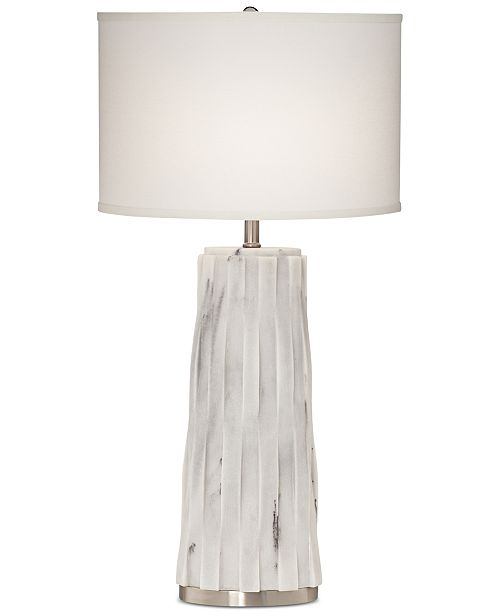 Kathy Ireland Pacific Coast Faux Marble Table Lamp